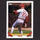 1993 Topps Baseball #165 Jose Rijo - Cincinnati Reds