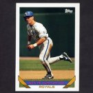 1993 Topps Baseball #158 Kevin Koslofski - Kansas City Royals