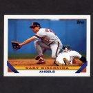 1993 Topps Baseball #157 Gary DiSarcina - California Angels