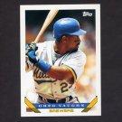 1993 Topps Baseball #153 Greg Vaughn - Milwaukee Brewers