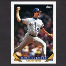 1993 Topps Baseball #152 Rich DeLucia - Seattle Mariners
