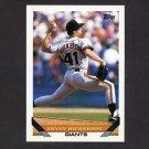 1993 Topps Baseball #147 Bryan Hickerson - San Francisco Giants