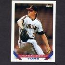 1993 Topps Baseball #141 Dennis Cook - Cleveland Indians