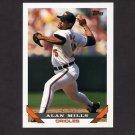 1993 Topps Baseball #137 Alan Mills - Baltimore Orioles