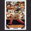 1993 Topps Baseball #135 Mickey Tettleton - Detroit Tigers