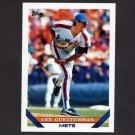 1993 Topps Baseball #134 Lee Guetterman - New York Mets