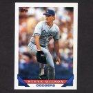1993 Topps Baseball #133 Steve Wilson - Los Angeles Dodgers