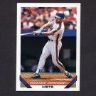 1993 Topps Baseball #106 Howard Johnson - New York Mets
