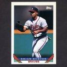 1993 Topps Baseball #102 Brian Hunter - Atlanta Braves