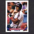 1993 Topps Baseball #085 Sandy Alomar Jr. - Cleveland Indians