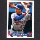 1993 Topps Baseball #069 John Vander Wal - Montreal Expos