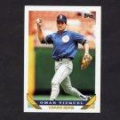 1993 Topps Baseball #068 Omar Vizquel - Seattle Mariners