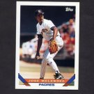 1993 Topps Baseball #058 Jose Melendez - San Diego Padres