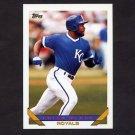 1993 Topps Baseball #049 Brian McRae - Kansas City Royals