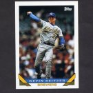 1993 Topps Baseball #044 Kevin Seitzer - Milwaukee Brewers