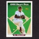 1993 Topps Baseball #033 B.J. Wallace - Montreal Expos
