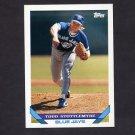 1993 Topps Baseball #023 Todd Stottlemyre - Toronto Blue Jays