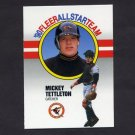 1990 Fleer Baseball All-Stars #12 Mickey Tettleton - Baltimore Orioles