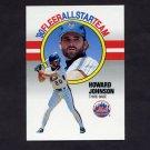 1990 Fleer Baseball All-Stars #04 Howard Johnson - New York Mets