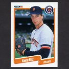 1990 Fleer Baseball #613 Kevin Ritz RC - Detroit Tigers