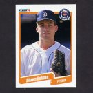 1990 Fleer Baseball #606 Shawn Holman RC - Detroit Tigers