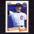 1990 Fleer Baseball #604 Mike Henneman - Detroit Tigers