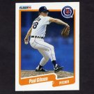 1990 Fleer Baseball #602 Paul Gibson - Detroit Tigers