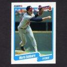 1990 Fleer Baseball #580 Mark Eichhorn - Atlanta Braves