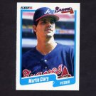 1990 Fleer Baseball #578 Marty Clary - Atlanta Braves