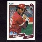 1990 Fleer Baseball #562 Steve Jeltz - Philadelphia Phillies