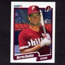 1990 Fleer Baseball #555 Darren Daulton - Philadelphia Phillies