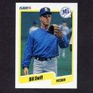 1990 Fleer Baseball #526 Bill Swift - Seattle Mariners