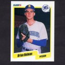 1990 Fleer Baseball #516 Brian Holman - Seattle Mariners