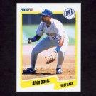 1990 Fleer Baseball #512 Alvin Davis - Seattle Mariners NM-M