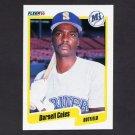 1990 Fleer Baseball #509 Darnell Coles - Seattle Mariners