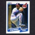 1990 Fleer Baseball #503 Greg Swindell - Cleveland Indians