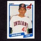 1990 Fleer Baseball #500 Jesse Orosco - Cleveland Indians
