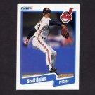 1990 Fleer Baseball #484 Scott Bailes - Cleveland Indians
