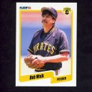 1990 Fleer Baseball #482 Bob Walk - Pittsburgh Pirates