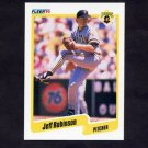 1990 Fleer Baseball #479 Jeff D. Robinson - Pittsburgh Pirates
