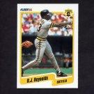 1990 Fleer Baseball #478 R.J. Reynolds - Pittsburgh Pirates