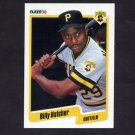 1990 Fleer Baseball #467 Billy Hatcher - Pittsburgh Pirates