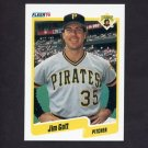 1990 Fleer Baseball #466 Jim Gott - Pittsburgh Pirates