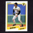 1990 Fleer Baseball #463 Sid Bream - Pittsburgh Pirates