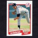 1990 Fleer Baseball #443 Lee Guetterman - New York Yankees