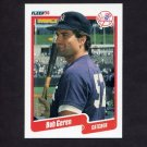 1990 Fleer Baseball #442 Bob Geren - New York Yankees