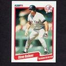 1990 Fleer Baseball #436 Steve Balboni - New York Yankees