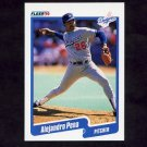 1990 Fleer Baseball #405 Alejandro Pena - Los Angeles Dodgers