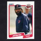 1990 Fleer Baseball #385 Jeff Reardon - Minnesota Twins