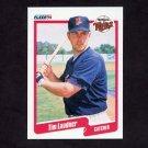 1990 Fleer Baseball #380 Tim Laudner - Minnesota Twins